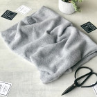 Kids snood scarf for fall, winter, spring BUBOO luxury - Grey