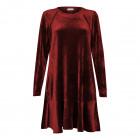 Female luxurious dress ROMA Bordo velvet