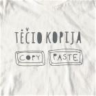 Short sleeve shirt white TĖČIO KOPIJA