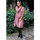 Female stylish dress LIMA Ash Rose with short sleeves