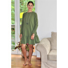 Female stylish dress FLORENCE Pistachio