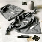 Beanie UPSIDEDOWN grey dandelion (modal/cotton)