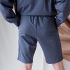 Female stylish leisure shorts BUBOO active, blue - indigo