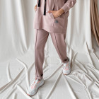 Female stylish leisure pants WOW, ash rose