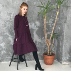 Female stylish dress OTAVA Ultraviolet