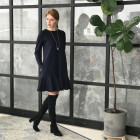 Female luxurious dress ROMA Royal Blue