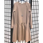 Female stylish dress VENEZIA Latte