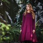 Female stylish dress OTAVA Ultraviolet