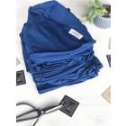 Kids thin beanie UPSIDEDOWN blue