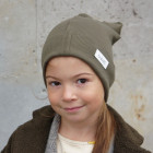 BEAR chaki one layer beanie