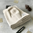 BEAR milk foam one layer beanie