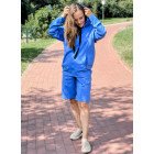 Female stylish leisure shorts BUBOO active, bluish
