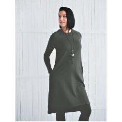 Female stylish dress MONACO Anthracite