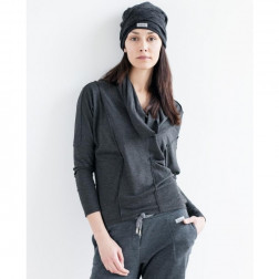 Female grey leisure casual top PARIS