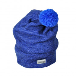 GNOM double layered wool beanie corn flower