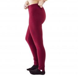 Female leggings Burgundy (thicker)