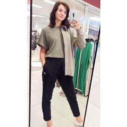 Female stylish leisure pants BUBOO active, black