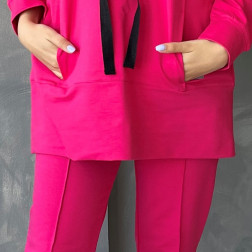 Female stylish leisure shorts BUBOO active, watermelon
