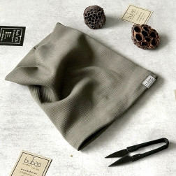 Kids snood scarf for spring, fall - Chaki